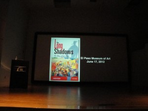 The Long Shadows Cover Onscreen