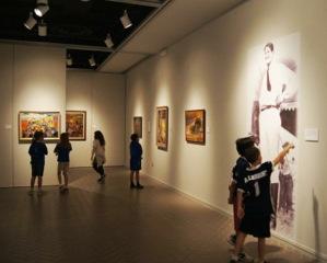 Jake's Paintings Exhibited at the Ellen Noël Art Museum